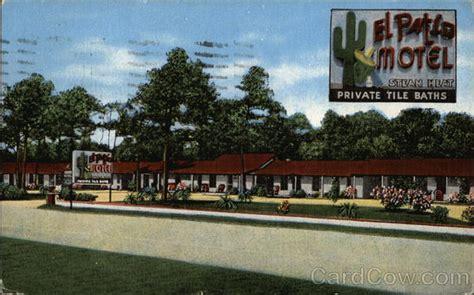 El Patio Myrtle el patio motel myrtle sc postcard