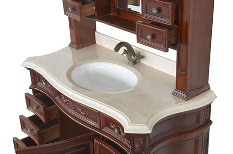 antique looking bathroom vanity constance ii antique style bathroom vanity single sink 49 1 quot