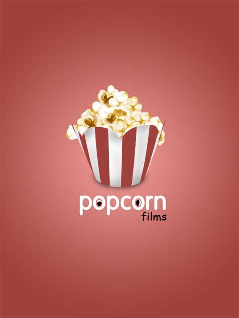 popcorn logo popcorn films logo on behance