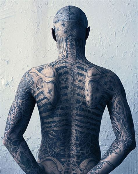 zombie boy tattoo rick genest boy pictures images pics