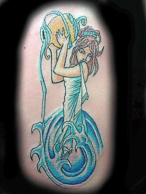 brilliant water bearer aquarius design zodiac
