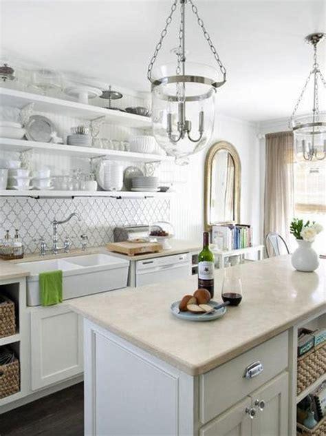 pretty kitchens pretty kitchen with elegant backsplash