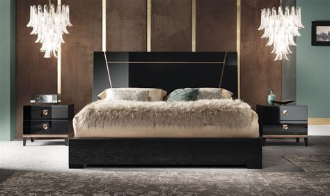 alf mont noir bedroom collection black high gloss unique furniture