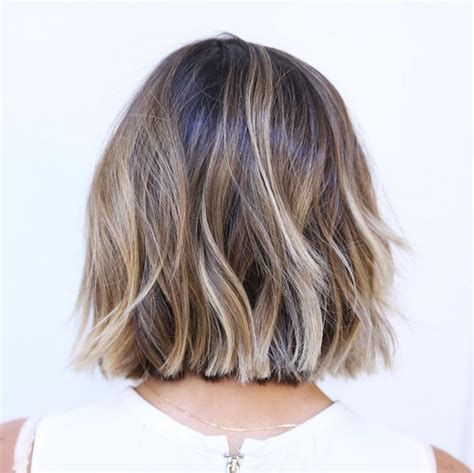 back view of razored ends layered razor bob front and back view short hairstyle 2013