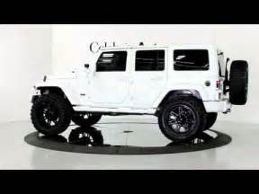 2013 jeep wrangler unlimited hardtop white blk 4