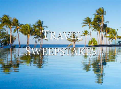 West Coast Road Trip Sweepstakes - win a trip to italy hawaii quebec and savannah try something fun
