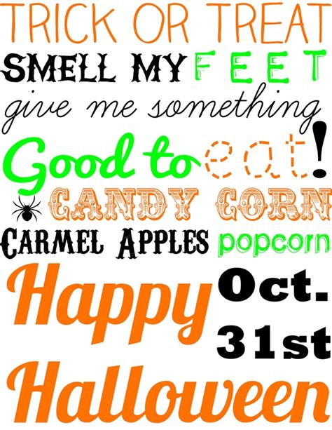 free printable halloween quotes free halloween printable halloween pinterest