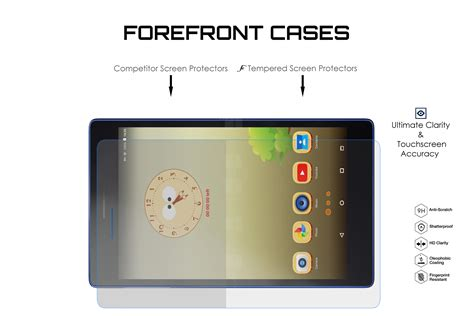9h hd tempered glass screen protector guard for lenovo tab 3 essential 7 inch ebay