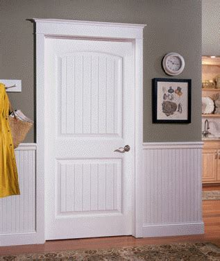 Masonite Wainscot by Shaker Style Door Casing Smooth Skin Doors Trim