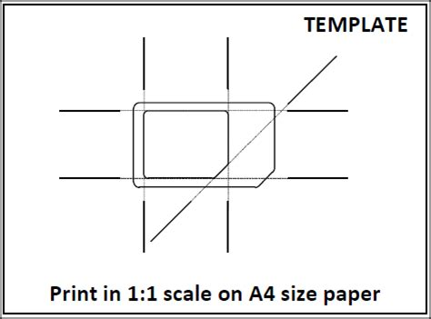 Micro Sim Template Print tips from anoop how to make micro sim from usual sim card