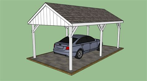 carport plan free carport plans howtospecialist how to build step