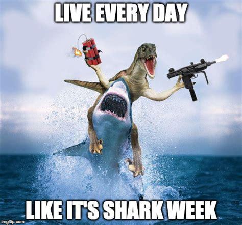 Shark Week Meme - words to live or die by imgflip
