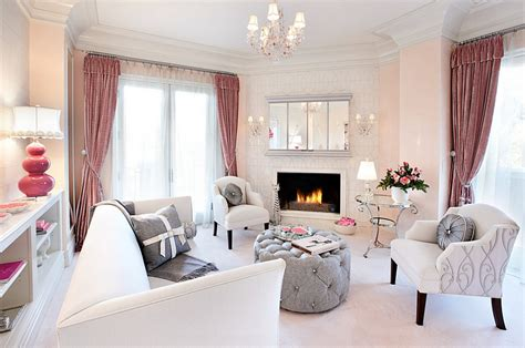 home interior design themes pink living room accessories beautiful pink decoration