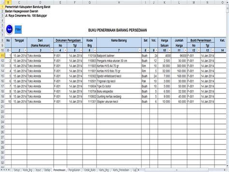 format laporan stok barang excel publikasi karya tulis widyaiswara bdk cimahi badan