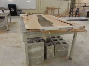 25 best ideas about concrete dining table on