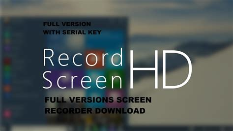 best screen recorder for pc version with serial key the best screen