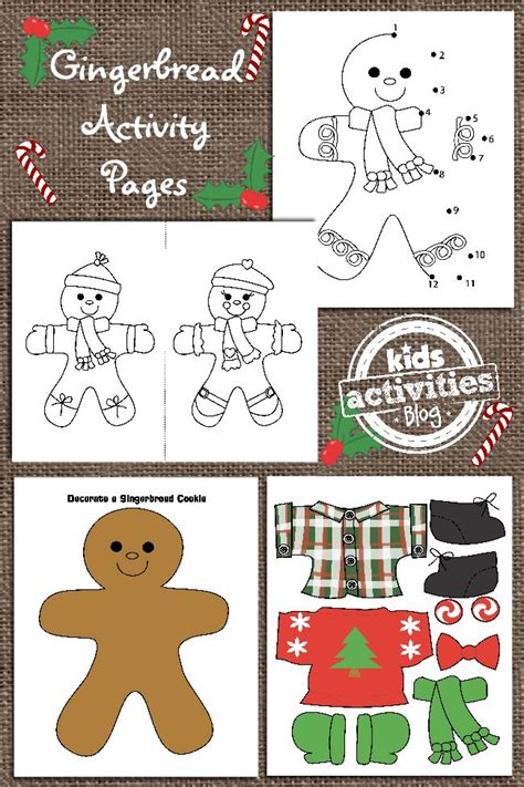 gingerbread man printable activities for preschool 1000 ideas about gingerbread man crafts on pinterest