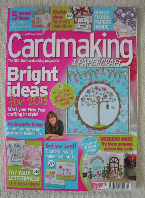 Cardmaking And Papercraft - tonic cardmaking and papercraft magazine