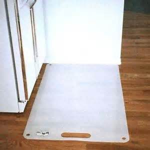 Floor Mat For Refrigerator Appliance Scuff Shield Floor Protector Commercial