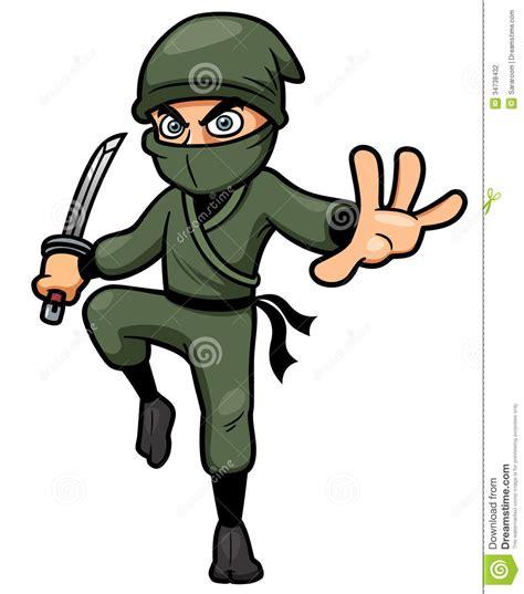 film ninja cartoon tecknad film ninja vektor illustrationer bild av sv 228 rd