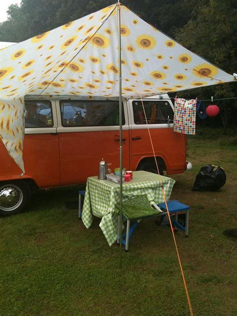 awning for van cute idea for a vw cer van awning vintage cers