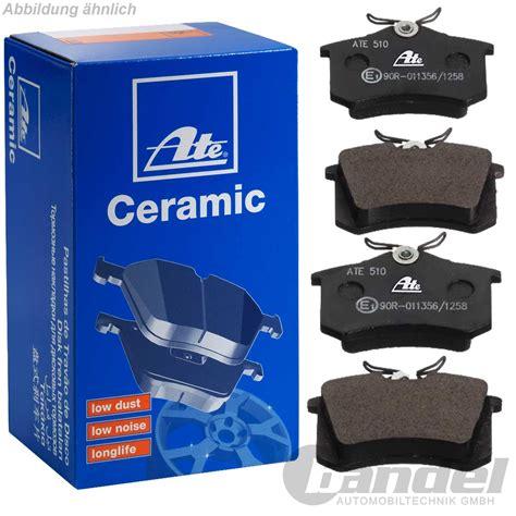 Audi A1 Bremsen by Ate Ceramic Bremsbel 196 Ge Bremsen Hinten Audi A1 A3 8p A4 B5