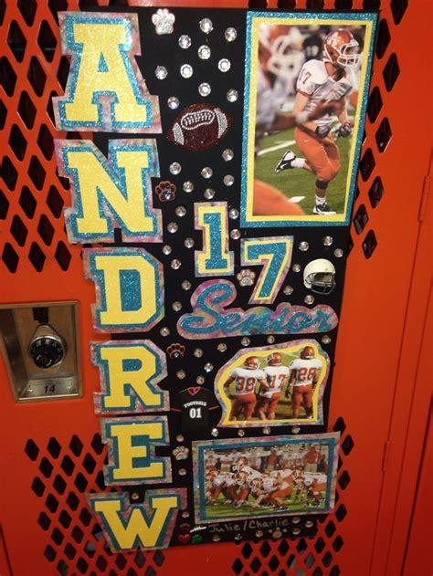 Football Locker Decorations by Locker Decorations Week 10 Locker Dec Last