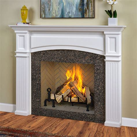 free interior top of fireplace mantel surround kit plans