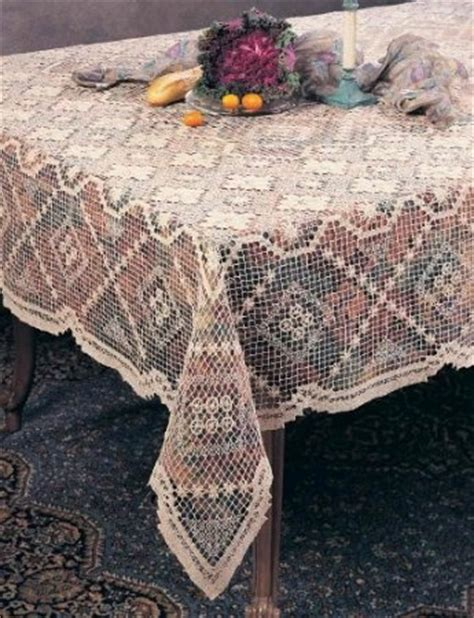knitting patterns for tablecloths handmade all tuscany lace tablecloth