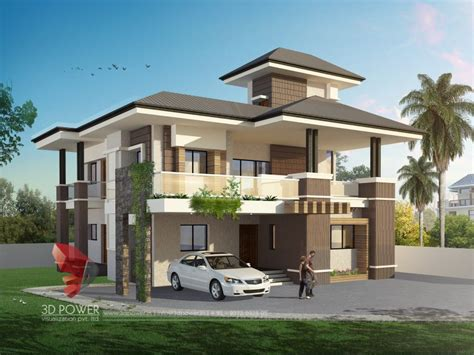 design 3d 3d bungalow design 3d modern bungalow rendering