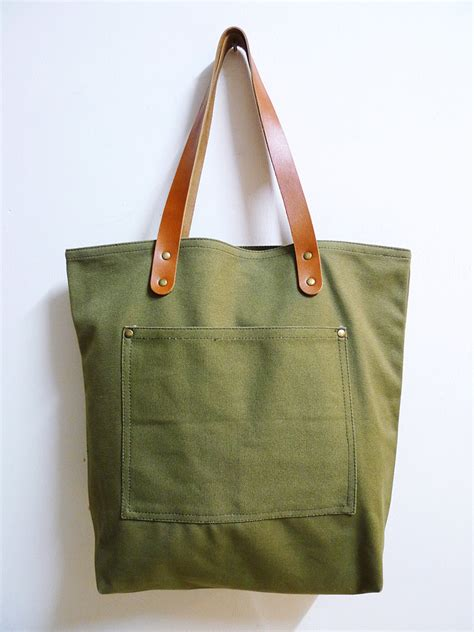 Handmade Canvas Bags - tote bag popwuping
