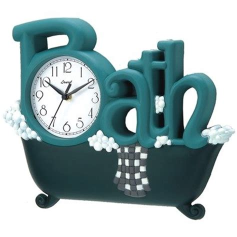 bathtub clock bathroom clock new haven 1572gr remail bath clock