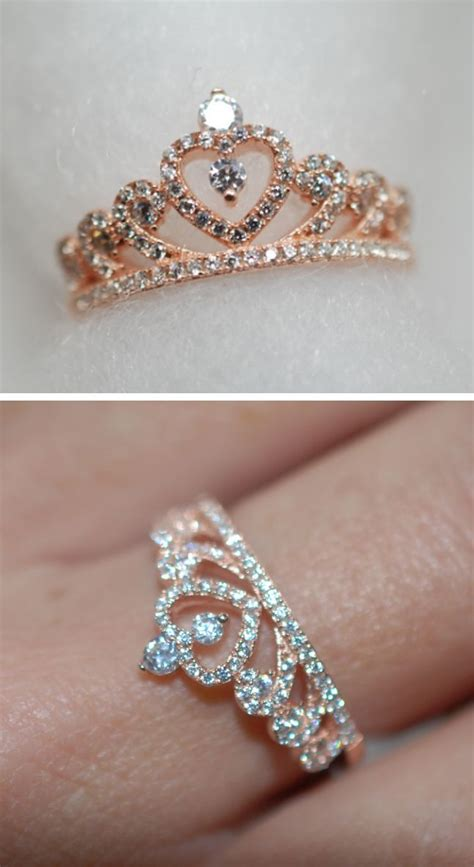 25 best ideas about princess crown rings on
