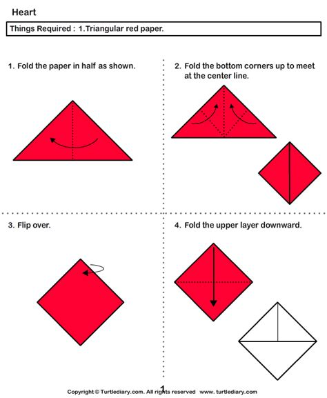 Kindergarten Origami - craft activities for how to make an origami