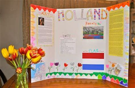 tri fold book report homeschooling project on with elmers tri