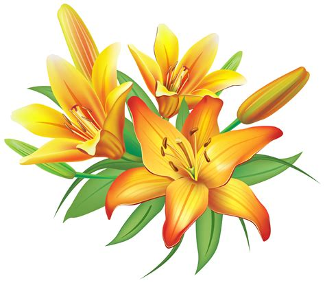 flower clipart yellow clipart clipground