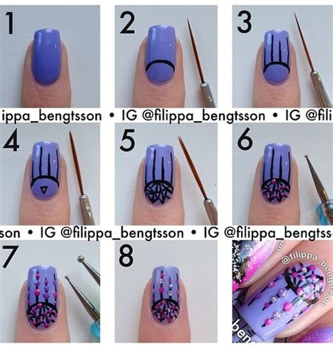 Simple Nail For Nails Step By Step