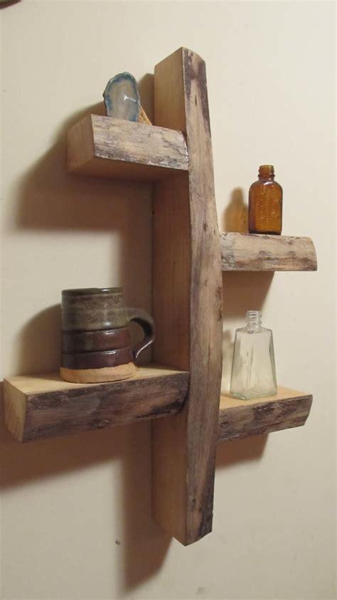 rustic wood shelves rustic shelves home decoz
