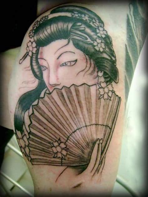 tattoo geisha n a lung 25 striking geisha tattoos designs
