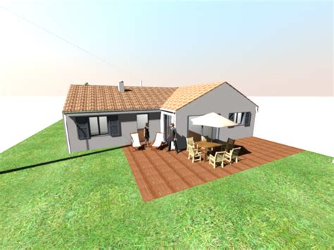 Home Design 3d Toit Construction De La Maison En 3d Avec Sweet Home 3d