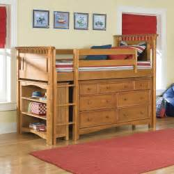Loft Bedroom Sets Bolton Bennington Low Loft Bed With Storage