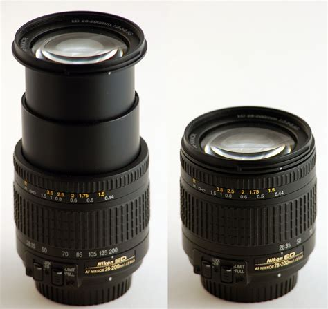 with zoom zoom lens