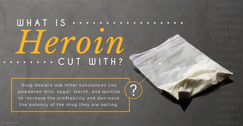 what color is herion what is heroin cut with