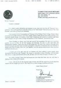 Appreciation Letter To Vice Principal Search