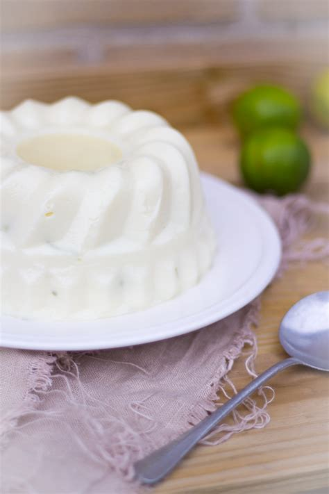 braziliaanse kokos limoen pudding es factory
