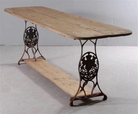 table pour machine a coudre 60 id 233 es pour recycler une vieille machine 224 coudre