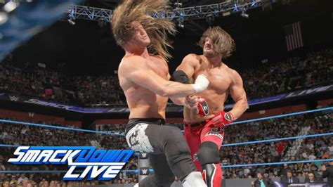 dolph ziggler stile from the wwe rumor mill possible botch in smackdown live