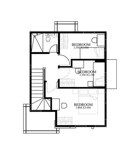 2nd floor plan design beautiful filipino small house design 3 pinoy house