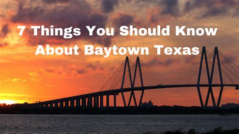 7 Things You Should About by 7 Things You Should About Baytown Mclife Houston