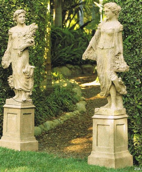 Statue Garden by Garden Statues Tips To Make Them Look Stunning In Your Yard